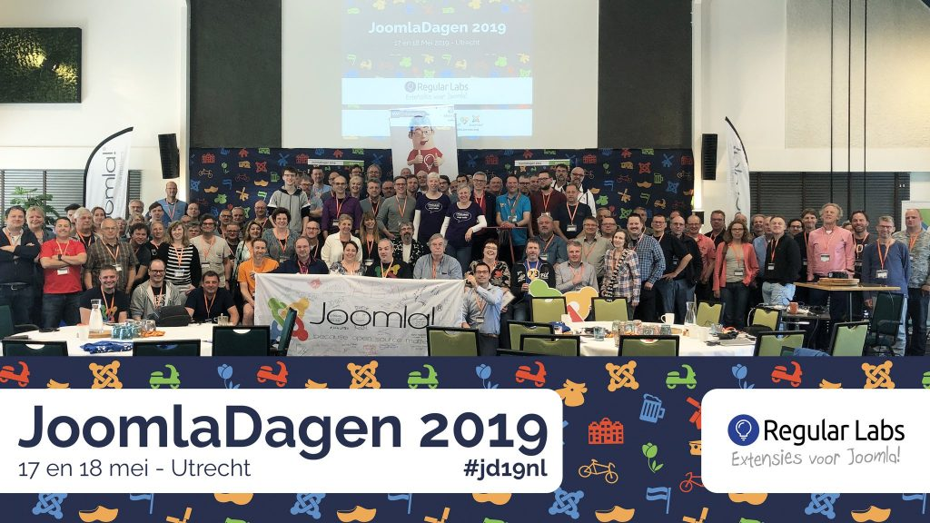 Groepsfoto JoomlaDagen 2019